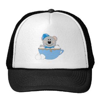 Cutelyn Baby Boy Snow Koala Bear Mug Trucker Hat