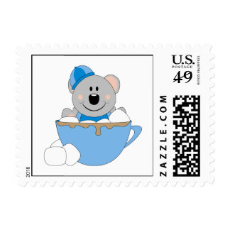 Cutelyn Baby Boy Snow Koala Bear Mug Postage