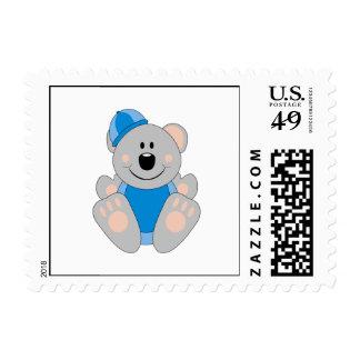 Cutelyn Baby Boy Snow Koala Bear Postage