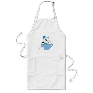 Cutelyn Baby Boy Snow Panda Bear Mug Aprons