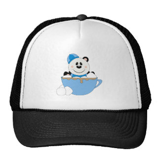 Cutelyn Baby Boy Snow Panda Bear Mug Trucker Hats