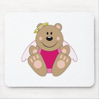 Cutelyn Baby Girl Angel Bear Mouse Pad