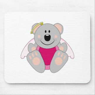 Cutelyn Baby Girl Angel Koala Bear Mouse Pad