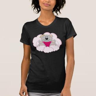 Cutelyn Baby Girl Angel Koala Bear On Clouds T Shirts