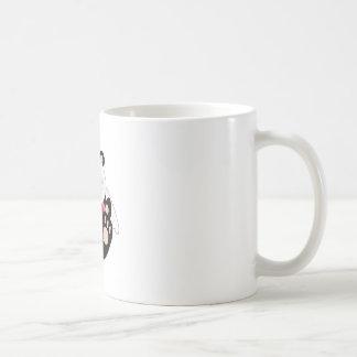 Cutelyn Baby Girl Angel Panda Bear Classic White Coffee Mug