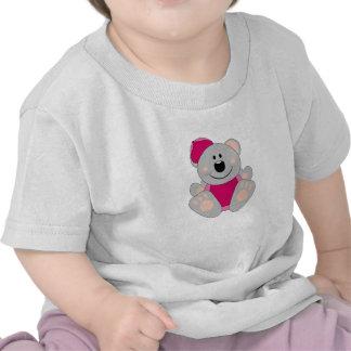 Cutelyn Baby Girl Baseball Koala Bear Shirt