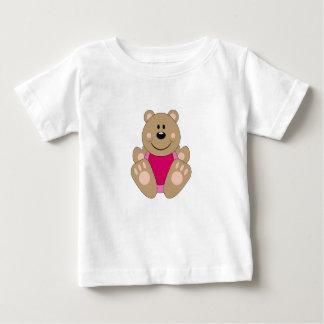 Cutelyn Baby Girl Bear Baby T-Shirt