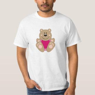 Cutelyn Baby Girl Bear T-Shirt