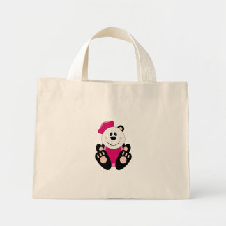 Cutelyn Baby Girl Sailor Panda Bear Mini Tote Bag
