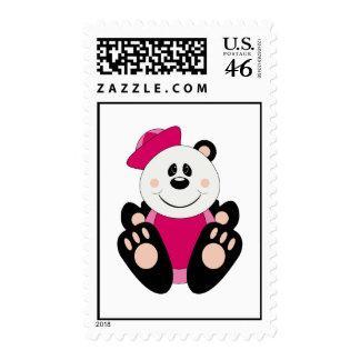Cutelyn Baby Girl Sailor Panda Bear Postage