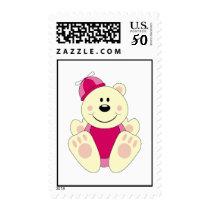 Cutelyn Baby Girl Silly Polar Bear Postage