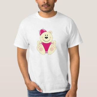 Cutelyn Baby Girl Silly Polar Bear T-Shirt
