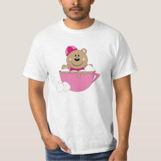 Cutelyn Baby Girl Snow Bear Mug T-Shirt