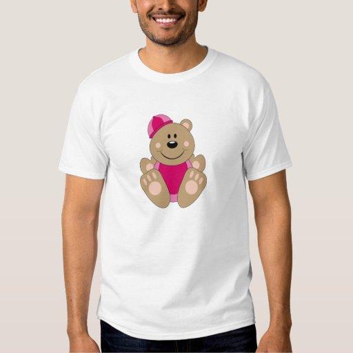 Cutelyn Baby Girl Snow Bear Tshirt