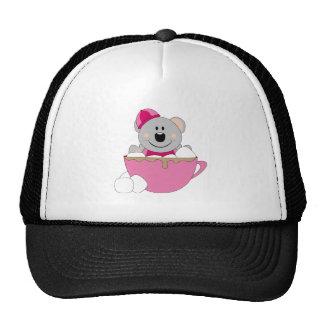 Cutelyn Baby Girl Snow Koala Bear Mug Trucker Hat