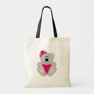 Cutelyn Baby Girl Snow Koala Bear Tote Bag
