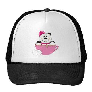 Cutelyn Baby Girl Snow Panda Bear Mug Trucker Hat