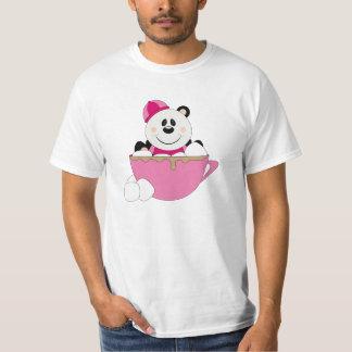 Cutelyn Baby Girl Snow Panda Bear Mug T-Shirt