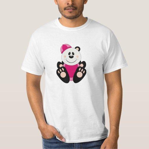 Cutelyn Baby Girl Snow Panda Bear T-shirts