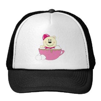 Cutelyn Baby Girl Snow Polar Bear Mug Trucker Hat