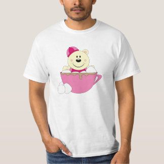 Cutelyn Baby Girl Snow Polar Bear Mug T-Shirt