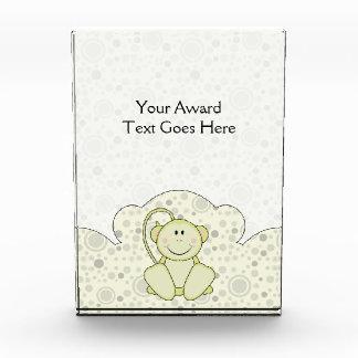 Cutelyn Baby Monkey Acrylic Award