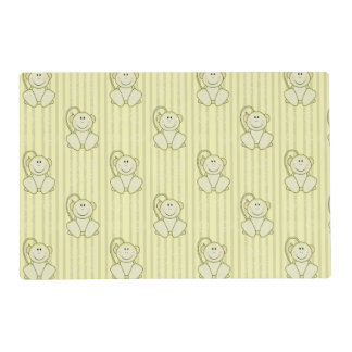 Cutelyn Baby Monkey Placemat