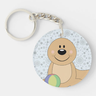 Cutelyn Baby Seal Keychain