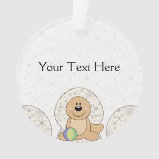 Cutelyn Baby Seal Ornament