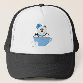 Cutelyn Boy Snow Panda Bear Mug Trucker Hat
