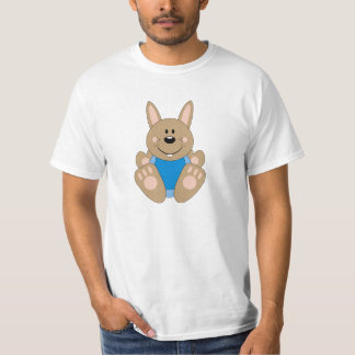 Cutelyn Brown Baby Boy Bunny T-Shirt