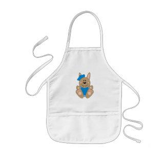 Cutelyn Brown Baby Boy Sailor Bunny Aprons