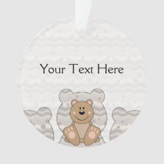 Cutelyn Brown Bear Ornament