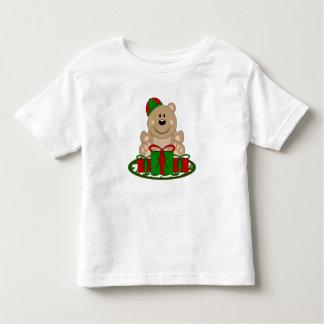 Cutelyn Christmas Present Bear Toddler T-shirt
