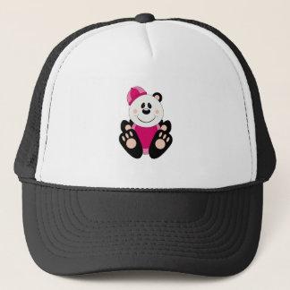 Cutelyn Girl Snow Panda Bear Trucker Hat