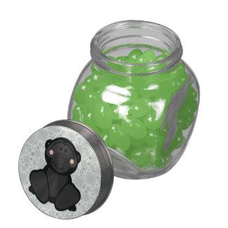 Cutelyn Gorilla Glass Candy Jar