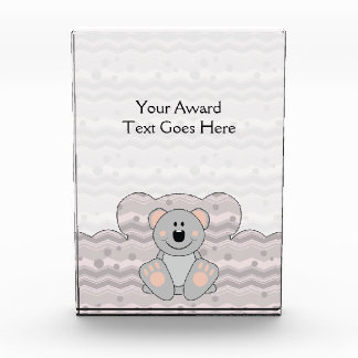 Cutelyn Koala Bear Acrylic Award