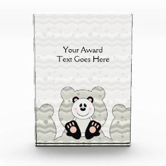 Cutelyn Panda Bear Acrylic Award