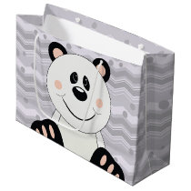 Cutelyn Panda Bear Large Gift Bag