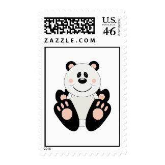 Cutelyn Panda Bear Stamps