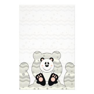 Cutelyn Panda Bear Stationery