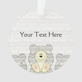 Cutelyn Polar Bear Ornament