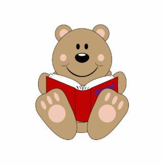 Cutelyn Reading Bear Photo Cut Outs