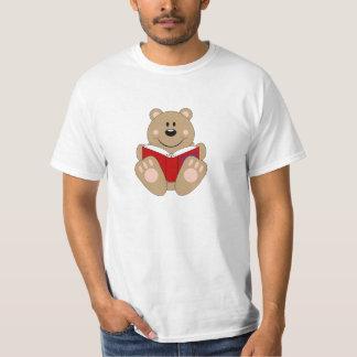 Cutelyn Reading Bear T-Shirt