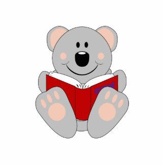 Cutelyn Reading Koala Bear Photo Cutouts
