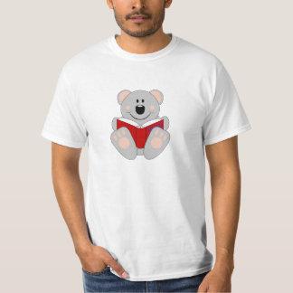 Cutelyn Reading Koala Bear T-Shirt