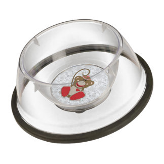 Cutelyn Sock Monkey Bowl