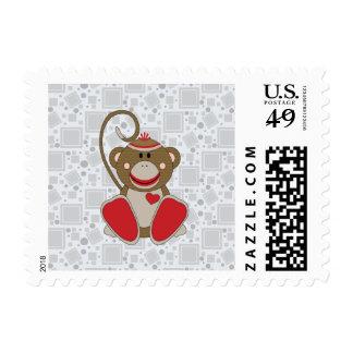 Cutelyn Sock Monkey Postage