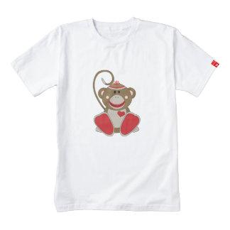 Cutelyn Sock Monkey Zazzle HEART T-Shirt