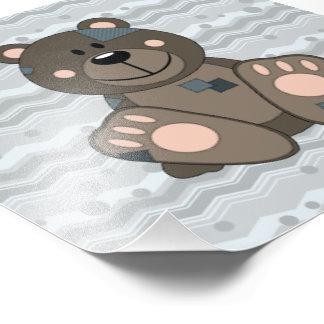 Cutelyn Teddy Bear Photo Print